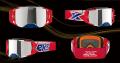 EKS Brand LUCID ルシードゴーグル パトリオット シルバーミラーレンズ