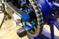 Yamaha ヤマハ 2014-2015  MT-07用アクスルブロックスライダー