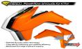 CYCRA サイクラ KTM パワーフローインテークラジエターシュラウド (2013-2014)