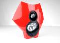 Trail Tech トレイルテック DUAL SPORT HEADLIGHT X2 赤・レッド