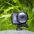 GoPro Hero5 BLACK専用 スナップオン ガラス製 マクロレンズ (クリア) 10倍