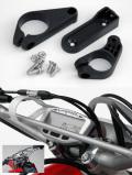 VAPOR / STRIKERメーター用プラスチックハンドルバーマウントハードウェアキット(補修部品)