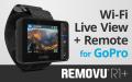 REMOVU R1+ ウェアラブル防水ライブビューモニターリモコンキット