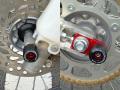 Honda CRF150R用 フロント&アクスル ブロック スライダー