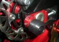 Suzuki GSF 1250 Bandit 2007-2010 用アクスルブロックスライダー