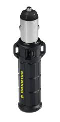 TORPEDO 2600 - 持ち運べる USB付車載シガーソケット充電器