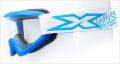 """X-Brand ゴーグル""""FLAT-OUT"""" LIQUIDブルー"""