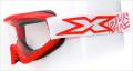 "X-Brand ゴーグル""FLAT-OUT"" Liquid レッド"