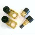 SLIDE KTM SX/SX-F/XC/XC-F/SMR/EXC  125-500/690 フロント&リアアクスル ブロック スライダーセット