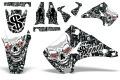 AMR デカール Ed Hardy フルキット KX250 03-13