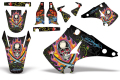 AMR デカール Ed Hardy フルキット KX 125/250 03-13, 99-02, 94-98, 92-93, 90-91