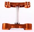 RIDE ENGINEERINGトリプルクランプキット KTM SX/XC (00-12) EXC (00-13) オレンジ 19mm オフセット