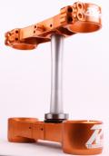 RIDE ENGINEERINGトリプルクランプキット KTM SX/XC (00-12) EXC (00-13) オレンジ 20.5mm オフセット