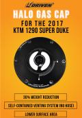 KTM 1290 Super Duke用 HALO フュエルキャップ