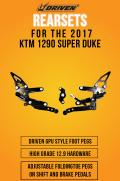 D-Axis TT バックステップ KTM 1290 Super Duke