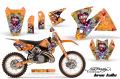 AMR デカール Ed Hardy ナンバープレート C2  SX EXC MXC
