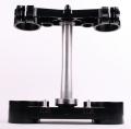 RIDE ENGINEERINGトリプルクランプキット KX450F/KX250F  13-15 ブラック 20mm オフセット