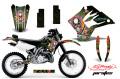 AMR デカール Ed Hardy フルキット KDX220 97-05, KDX200 95-06