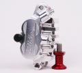 RIDE ENGINEERING ビレットMX キャリパー (シルバー)