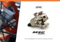 Moto-Master ビレットMXC ファクトリーエディションリアラジアルキャリパー パッド付  (Nickel plated)