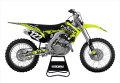 ENJOY MFG Moto X Compound チームデカールフルキット(ネオン)+シートカバー