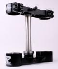 RIDE ENGINEERINGトリプルクランプキット RMZ450 (13-15) ブラック 20mm オフセット