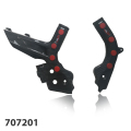 Tekmo Racing カーボンフレームガード TPUラバー付き KTM EXC/EXC-F 2020-用 品番:707201