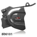 Tekmo Racing KTM 690 SMC-R/ Enduro R, Husqvarna 701 Supermoto/ Enduro 用 カーボンフロントスプロケットカバー 品番:806101