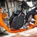 Tekmo カーボンイグニションカバー KTM 450SX-F