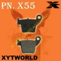 Honda用オーガニックコンパウンドのカーボンリアブレーキパッド(X55T)