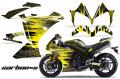 AMR デカール Yamaha R1(2010-2012) 専用グラフィック コンプリートキット EDHARDY