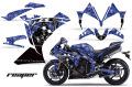 AMR デカール Yamaha R1(2010-2012) 専用グラフィック コンプリートキット