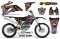 AMR デカール Ed Hardy フルキット YZ125/250  93-95, 96-01, 02-14