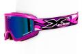 X-Brand MXゴーグル Limited パープル紫