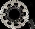 WARP9 320mm APEX フローティングスーパーモトブレーキローター+専用キャリパーサポート