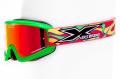 X-Brand MXゴーグル Limited フローグリーン