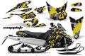 AMR デカールスノーモービル Yamaha FX Nytro 08-12 専用グラフィックキット