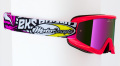 """X-Brand ゴーグル""""Limited MotoConcept"""" ピンク Mike Alessi"""