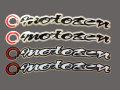 MOTO禅・Motozen フェンダーアーチデカール V2