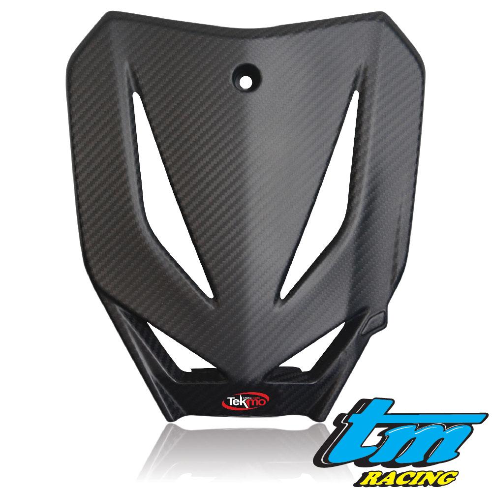 Tekmo Racing TM 450fi カーボンゼッケンプレート