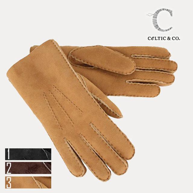 celtic ムートン手袋