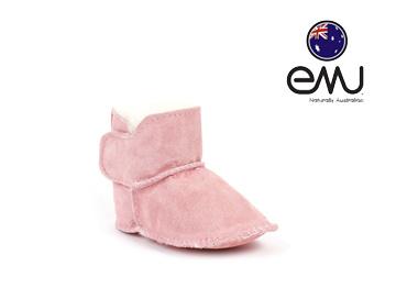 EMUエミュー幼児ベビー用ムートンブーツ BABY BOOTIE(ピンク)