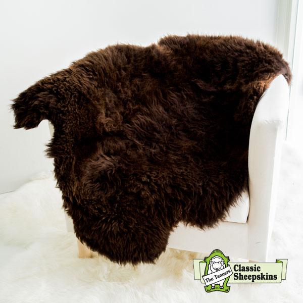 ムートンラグ spotty classic sheepskin #111