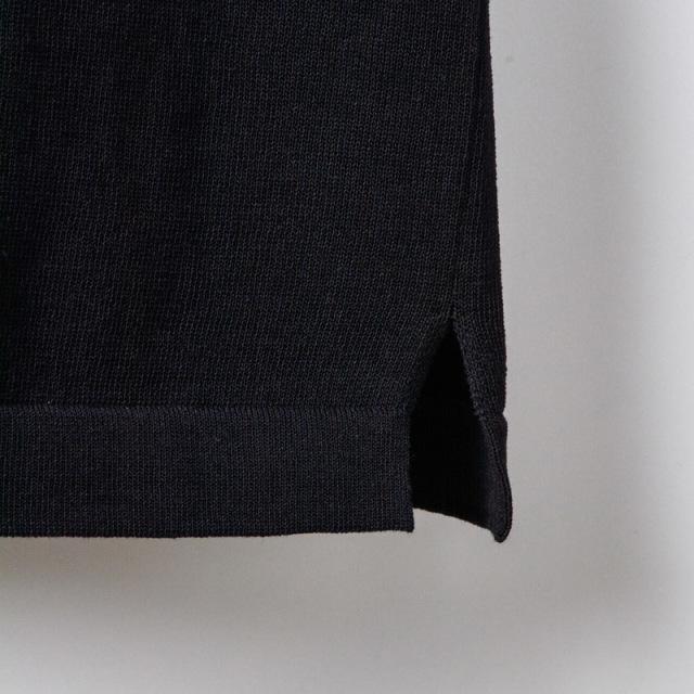 半袖ポロシャツブラック