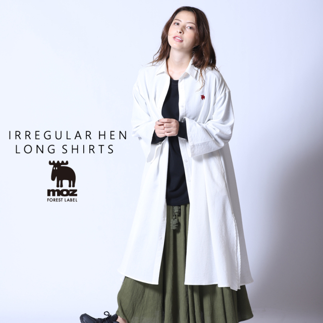 moz FOREST LABEL  ロングシャツ◆