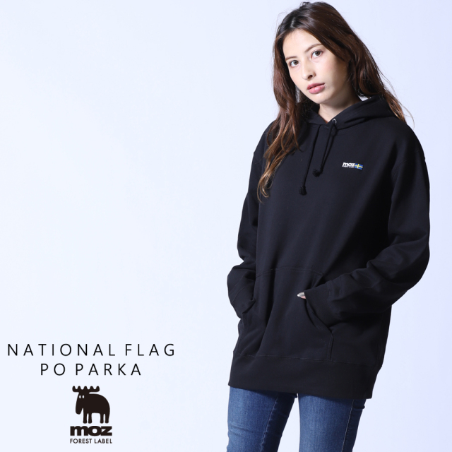 moz FOREST LABEL  NATIONAL FLAGプルオーバーパーカー◆