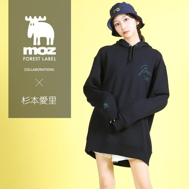 杉本愛里×moz FOREST LABEL コラボバケットハット