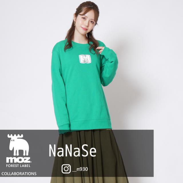 NaNaSe×moz FOREST LABEL インフルエンサーコラボトレーナー