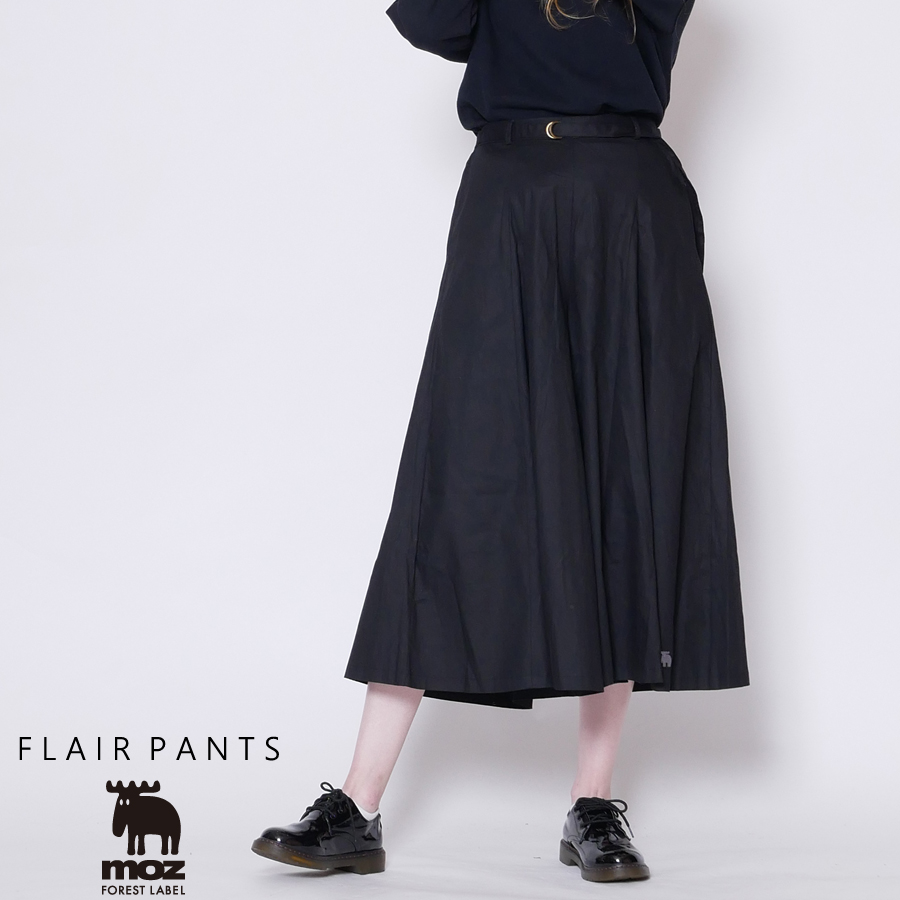 moz FOREST LABEL  ロングフレアパンツ◆
