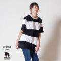 moz FOREST LABEL  ボーダーTシャツ◆
